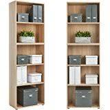 Cubic Bookcase Homcom Cubic Bookcase Multi Cells Bookshelf Indoor Office Home