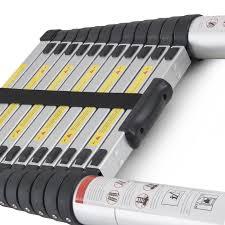 generic en131 std 12 5ft aluminum telescopic tel escoping ladder