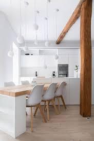 table cuisine cuisine en u avec table photos de design d intérieur et