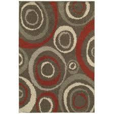 home decorators area rugs home decorators collection orbit mushroom 4 ft x 6 ft area rug