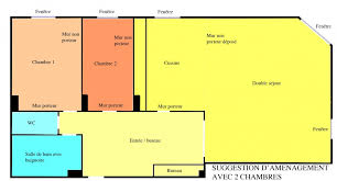 chambre loi carrez gambetta appartement 3 4 pièces 77 m2 loi carrez ascenseur