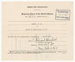 Bill Of Sale For Car In Georgia by Order For Appearance Of Thurgood Marshall Who Argued The Case For