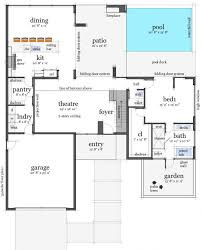 collections of modern waterfront house plans free home designs