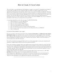 Make A Cover Letter How To Create A Cover Letter Image Collections Cover Letter Ideas