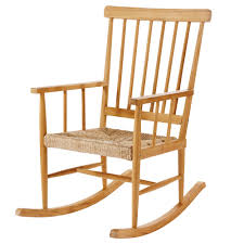 Rocking Chair Teak Rocking Chair Maisons Du Monde