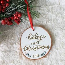 baby s birch wood ornament letter adore