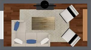 Furniture For Floor Plans 4 Furniture Layout Floor Plans For A Small Apartment Living Room