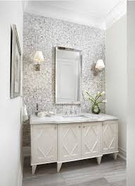 mirror tiles for bathroom walls tiled accent wall design ideas