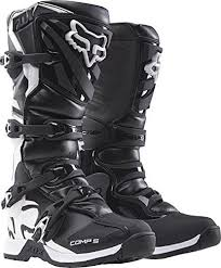 dirt bike motorcycle boots amazon com fox racing black comp 5 dirt bike boots motocross