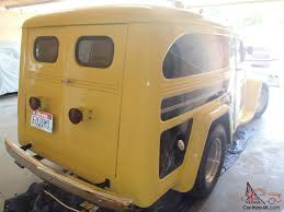 jeep van for sale 1950 willys sedan delivery street rod rod gasser panel truck
