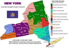 Counties In Ny State Map York Visitors Guide Map