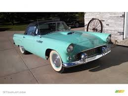 1955 thunderbird blue ford thunderbird convertible 99736740