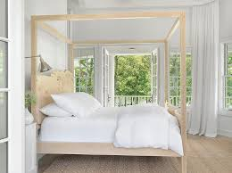 Wood Canopy Bed Carved Wood Canopy Bed Design Ideas