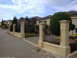 brick wall fence designs home design ideas and great front trends front wall fence designs fence designs styles and ideas backyard fencing more home including remarkable front