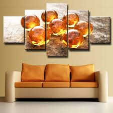 compare prices on wall art wall online shopping buy low price frame 5 pcs large hd print dragon ball modern decorative paintings on canvas wall art for