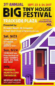 tinyhouse 3rd annual big tiny house festival coming to stoughton september