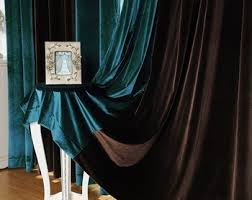 Turquoise Velvet Curtains Guangzhou Curtains Design Living Room Curtains Velvet Curtains
