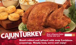 news popeyes cajun style turkeys are back brand