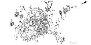 2005 honda odyssey torque converter 91205 p0x 005 genuine honda seal 40x56x9 nok