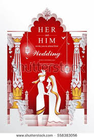 Indian Wedding Card Template 34 Best Indian Wedding Card Images On Pinterest Indian Wedding