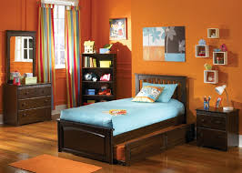 brooklyn full size trundle bed antique walnut bedroom furniture