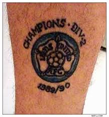 wafll leeds united pics vinnie jones tattoo