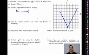 Inverse Functions Worksheet Answers Common Core Algebra Ii Unit 2 Lesson 7 Key Features Of Functions