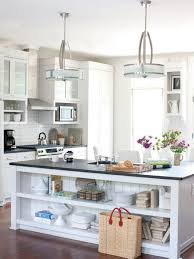 kitchen recessed lighting and low ceiling pendant lamps over
