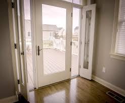 Patio Door With Vented Sidelites by Vented Door U0026 Fixed Louver Over Raised Panel Doors