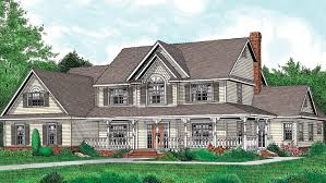 country farmhouse plans country house plan on one story country house plans