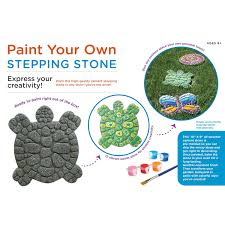 amazon com paint your own stepping stone turtle toys u0026 games