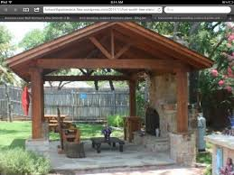 outdoor fireplaces and patios covered patio with outdoor