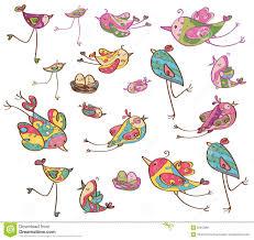 vector cute birds stock vector image 50912991