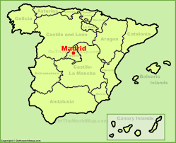 Madrid Airport Map Madrid Maps Spain Maps Of Madrid City