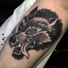 sailor jerry wolf flash search tattoos