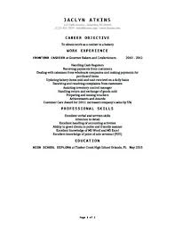 sample resume for cashier resume samples and resume help