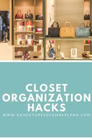 the adventures of amberlynn closet organization hacks the