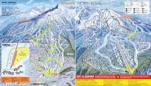 Map Of North America With Mountains by Revelstoke Mountain Resort Powder Springs Skimap Org