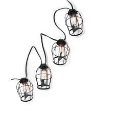 home accents 10 light c7 caged rat light string tyy541