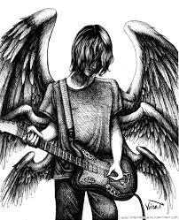 wings n guitar strings lines by vinetabris on deviantart