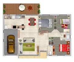 plan maison contemporaine plain pied 3 chambres plan maison 90m2 3 chambres excellent plan de maison m plain pied