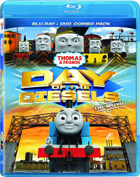 amazon com thomas friends day of the diesels blu ray dvd amazon com thomas friends day of the diesels blu ray dvd combo michael angelis michael brandon keith wickham kerry shale matt wilkinson