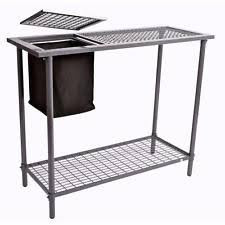 Keter Folding Work Table Bench Mate With 2 Clamps Garden Work Table Ebay