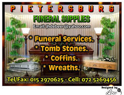 funeral supplies pietersburg funeral supplies polokwane business directory