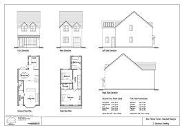 hartfell homes ettrick bungalow new build elegant unique design artists impression floor 2 bedroom bungalow plans uk homedesignview co