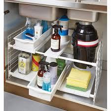 under sinks creative under sink drawer mesh basket organizer yeo lab