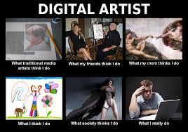 Artist Meme - digital artist art memes quotes pinterest digital and artist