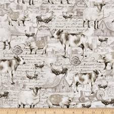 animals down on the farm discount designer fabric fabric com