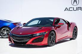 Acura Nsx Power Acura Nsx Production Delayed Arriving As 2017 Model