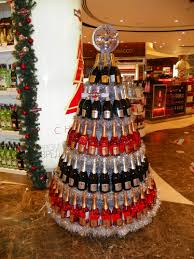 christmas martini pos merchandise u2013 bottle christmas tree by martini the odm group